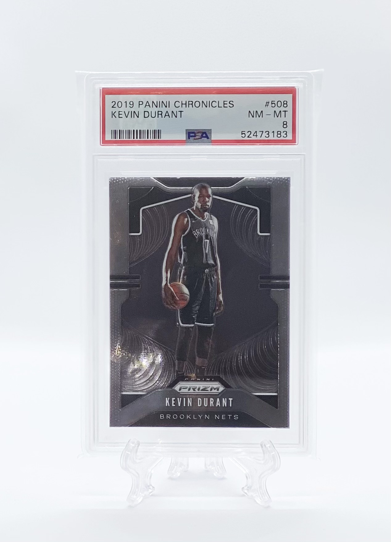 Kevin Durant – Chronicles Prizm Update PSA 8