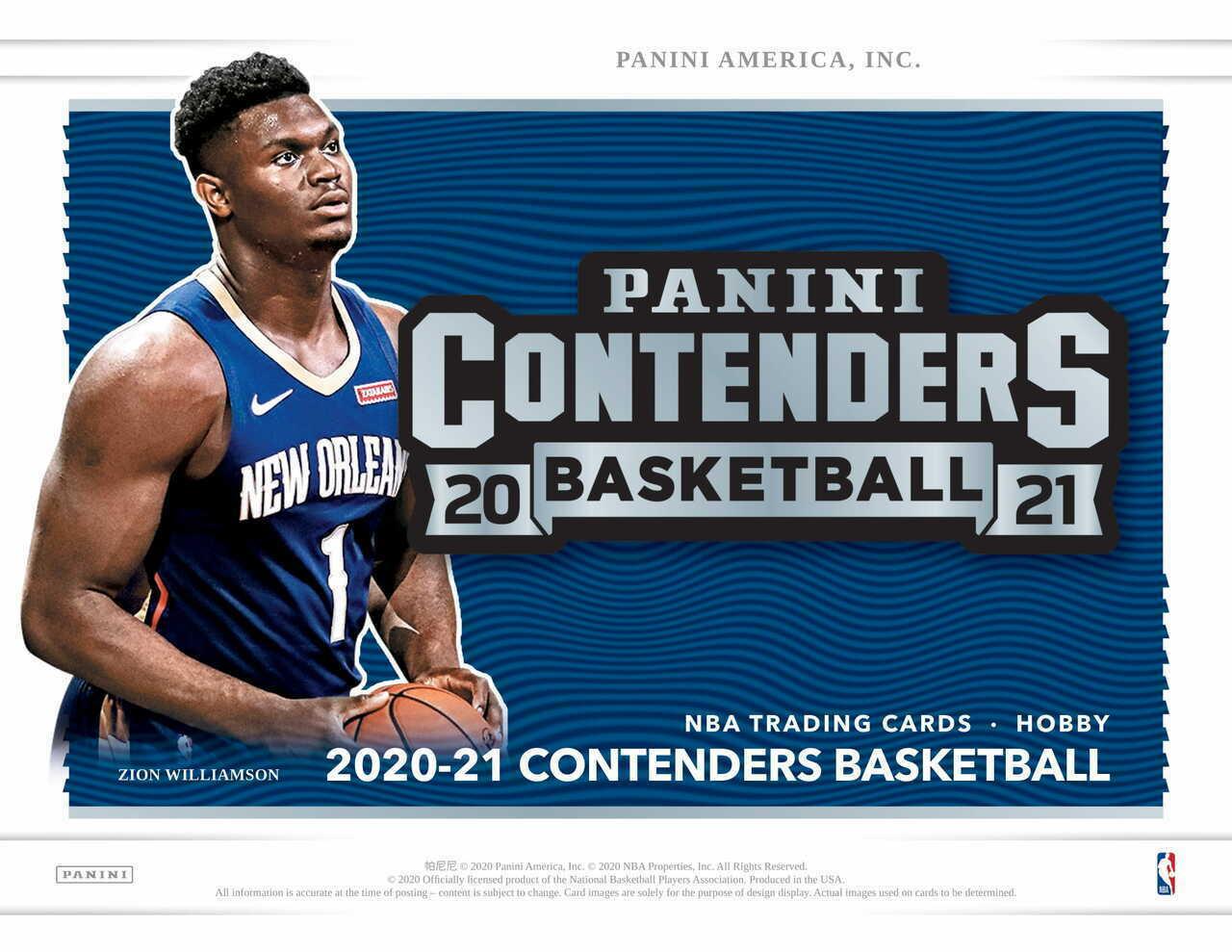 2020-21 Panini Basketball Contenders