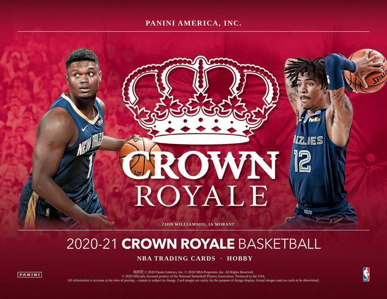 2020-21 Panini Crowne Royale Basketball